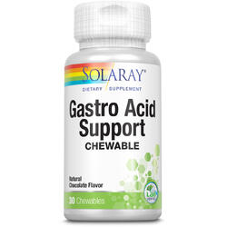 Gastro Acid Support 30tb masticabile SOLARAY