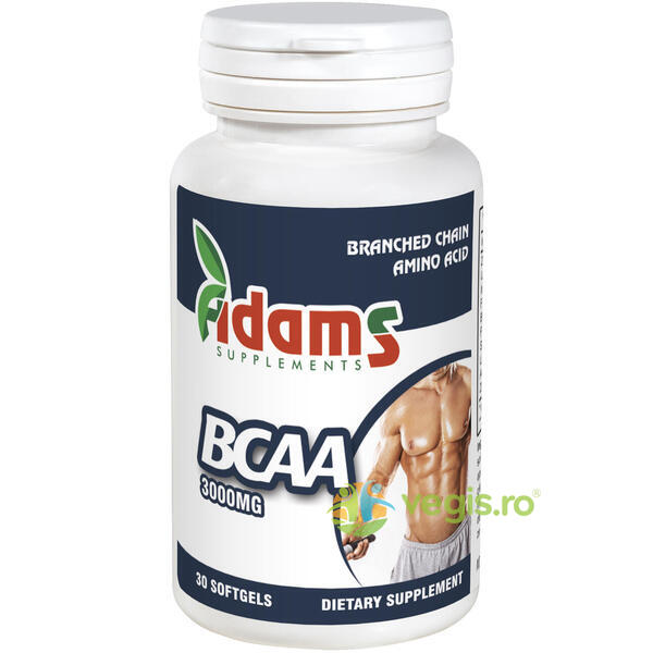 BCAA 3000mg 30tab ADAMS VISION