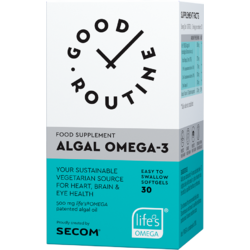 Algal Omega-3 30cps moi GOOD ROUTINE