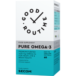 Pure Omega-3 60cps moi GOOD ROUTINE