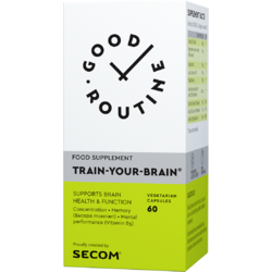 Train Your Brain 60cps vegetale GOOD ROUTINE
