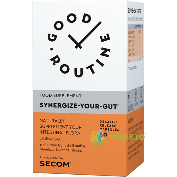 Synergize Your Gut 30cps GOOD ROUTINE