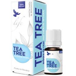 Ulei Esential Tea Tree pentru Uz intern 5ml BIONOVATIV