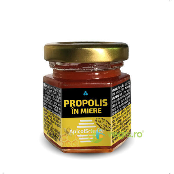 Propolis in Miere 50ml APICOLSCIENCE