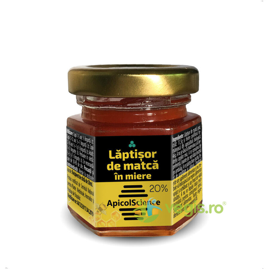 Laptisor de Matca in Miere (20%) 50ml imagine produs 2021