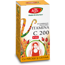 Vitamina C 200mg (F152) 60cpr FARES