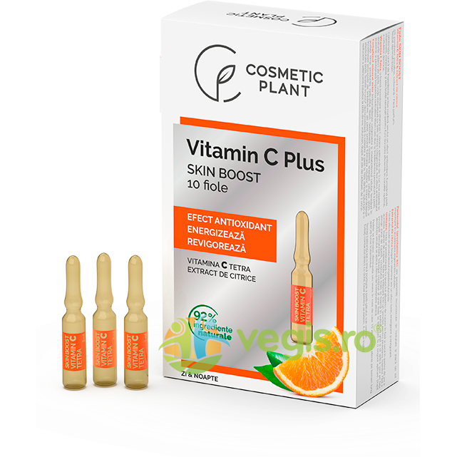 Fiole Skin Boost cu Vitamina C Tetra 10 fiole x 2ml imagine produs 2021