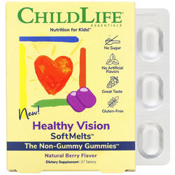Healthy Vision SoftMelts 27 tablete masticabile CHILD LIFE ESSENTIALS