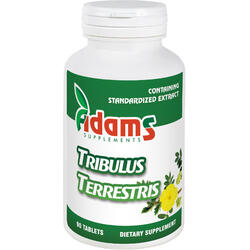 Tribulus Terrestris 1000mg 90tb ADAMS VISION