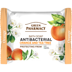 Sapun Antibacterian cu Portocale si Tea Tree 100g GREEN PHARMACY