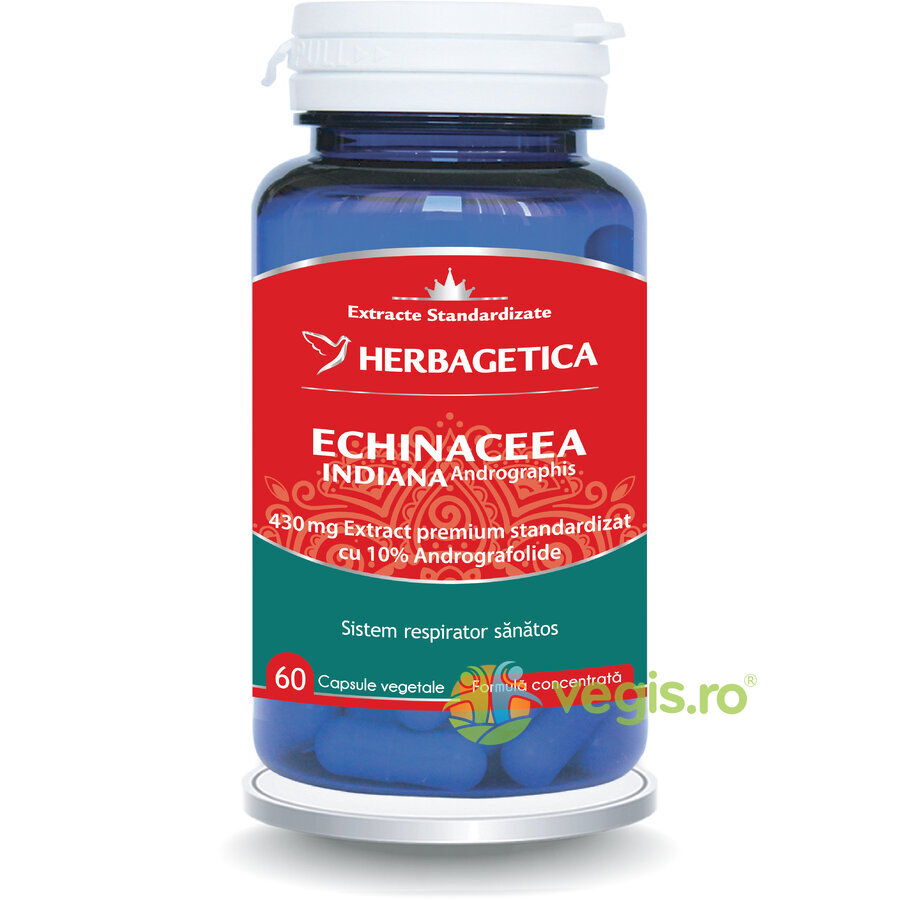HERBAGETICA Echinaceea Indiana - Andrographis 60cps