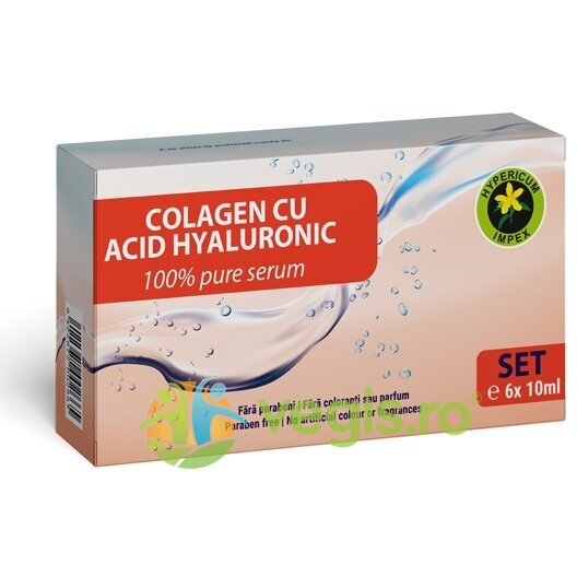 Set Colagen si Acid Hialuronic 6buc.x10ml imagine produs 2021