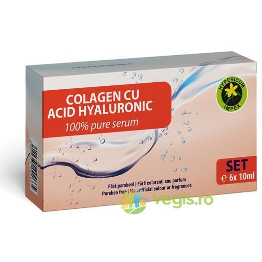 Set Colagen si Acid Hialuronic 6buc.x10ml HYPERICUM
