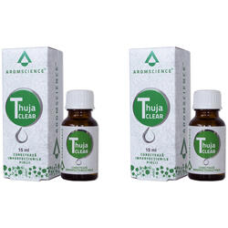 Thuja (Tuia) Clear 15ml Pachet 1+1-50% BIONOVATIV