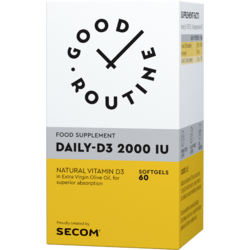 Vitamina D3 2000IU 60cps moi GOOD ROUTINE