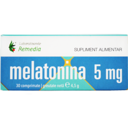 Melatonina 5mg 30cpr REMEDIA