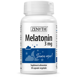 Melatonin 3mg 30cps ZENYTH PHARMA