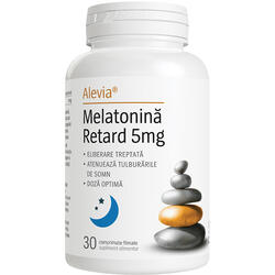 Melatonina Retard 5mg 30cpr ALEVIA