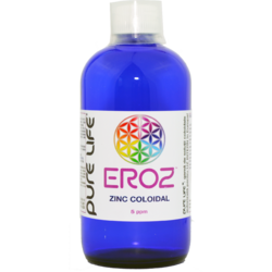 Zinc coloidal M+ EROZ 5ppm 480ml PURE LIFE