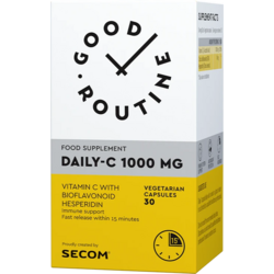 Vitamina C 1000mg 30cps vegetale GOOD ROUTINE