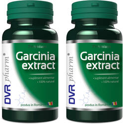 Garcinia Extract Pachet 60cps+60cps DVR PHARM
