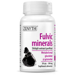 Fulvic Minerals 30cps ZENYTH PHARMA