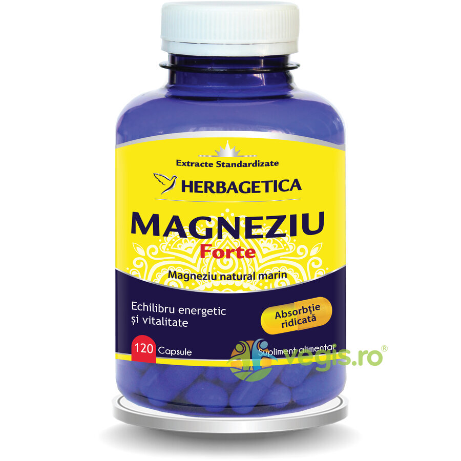 HERBAGETICA Magneziu Forte 120cps