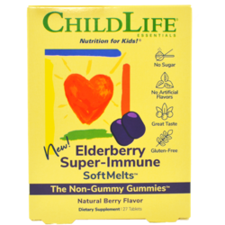 Elderberry Super-Immune SoftMelts 27 tab. masticabile CHILD LIFE ESSENTIALS