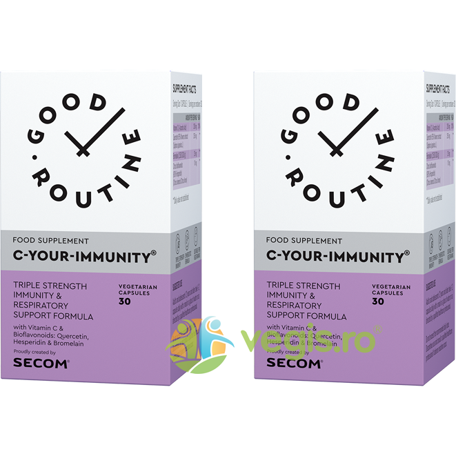 GOOD ROUTINE C Your Immunity 30cps vegetale + 30cps vegetale