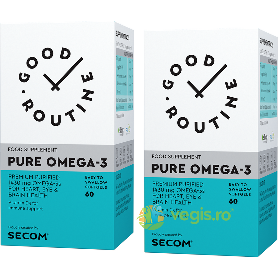 GOOD ROUTINE Pure Omega-3 60cps moi + 60cps moi