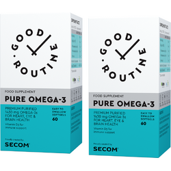 Pure Omega-3 60cps moi + 60cps moi GOOD ROUTINE