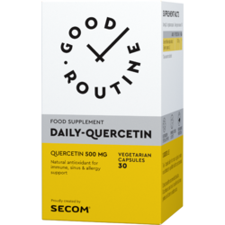 Quercetin (Quercitina) 500mg 30 cps. vegetale GOOD ROUTINE