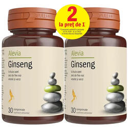 Ginseng 50mg 30cpr + 30cpr ALEVIA