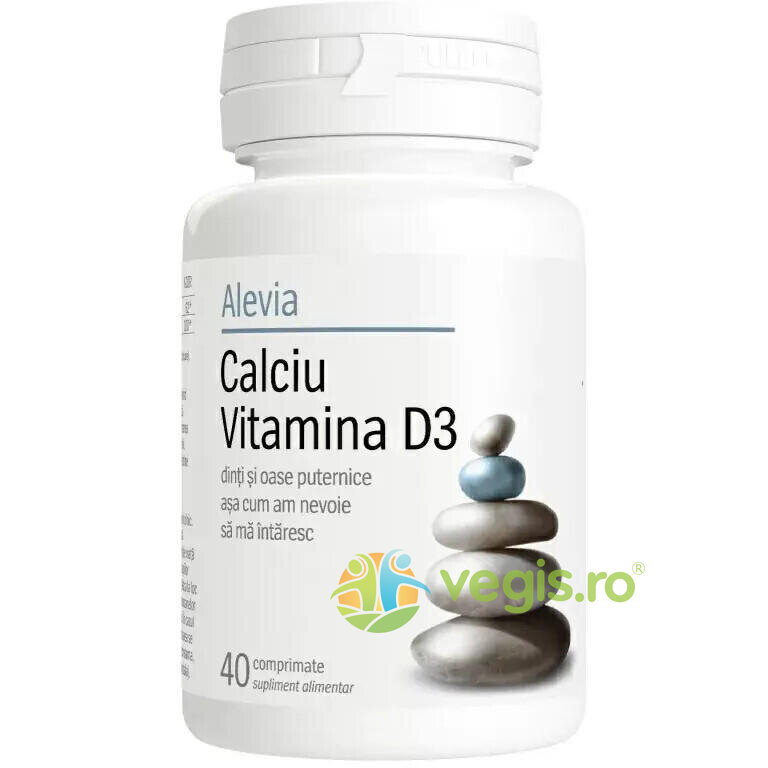 Calciu Vitamina D3 40cpr