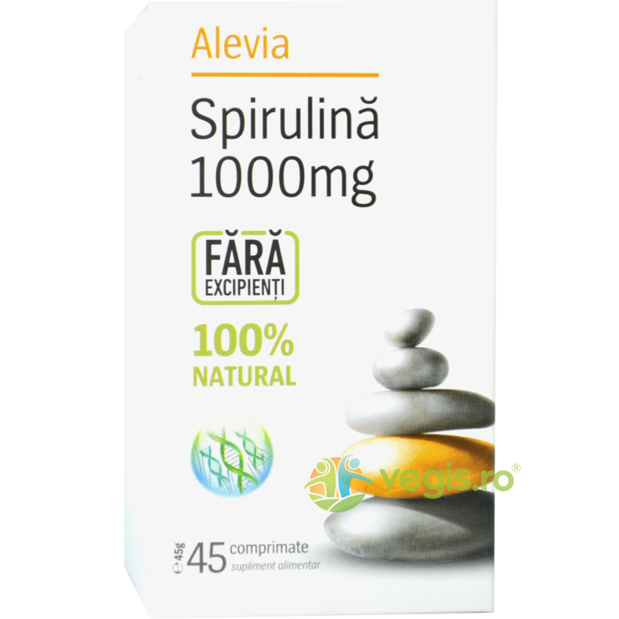 Spirulina 1000mg 45cps imagine