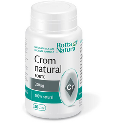 Crom Natural Forte 200mg 30cps ROTTA NATURA