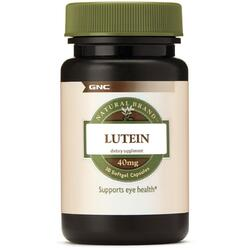 Luteina Natural Brand 40mg 30cps moi GNC