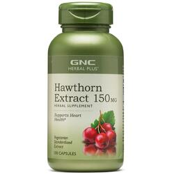 Extract de Paducel (Hawthorn) Herbal Plus 150mg 100cps GNC