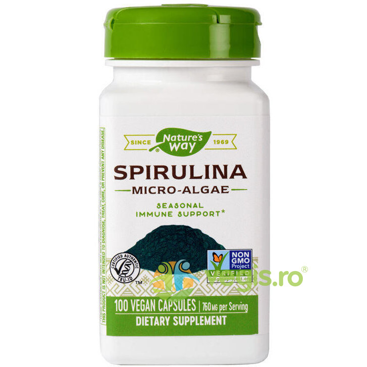 NATURES  WAY Spirulina 100cps