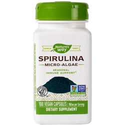 Spirulina 100cps NATURE'S  WAY