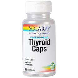 Thyroid Caps 60cps SOLARAY