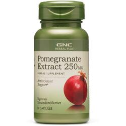 Pomegranate (Extract de Rodie) Herbal Plus 250mg 50cps GNC