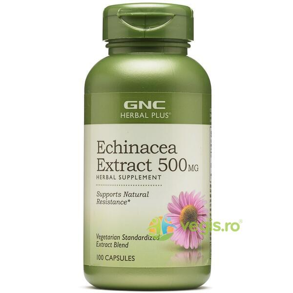 Echinacea Extract Herbal Plus 500mg 100cps GNC