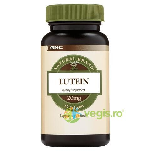 Luteina Natural Brand 20mg 60cps moi GNC
