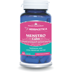 Menstro Calm 60cps HERBAGETICA