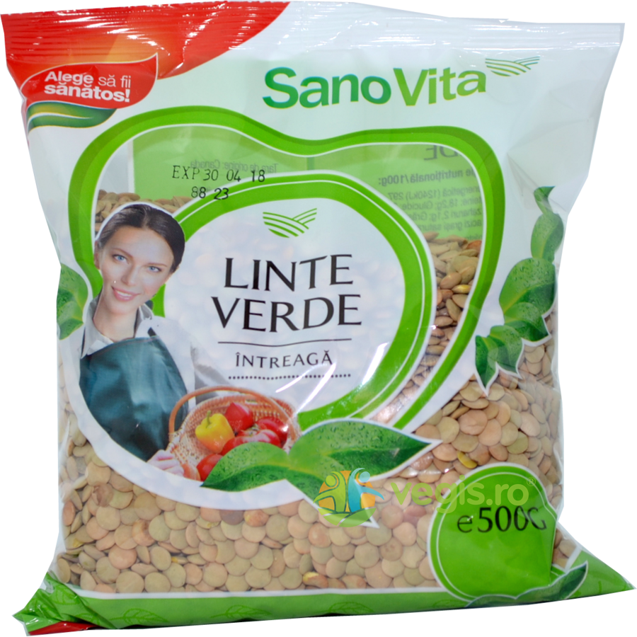 Linte Verde 500g imagine produs 2021