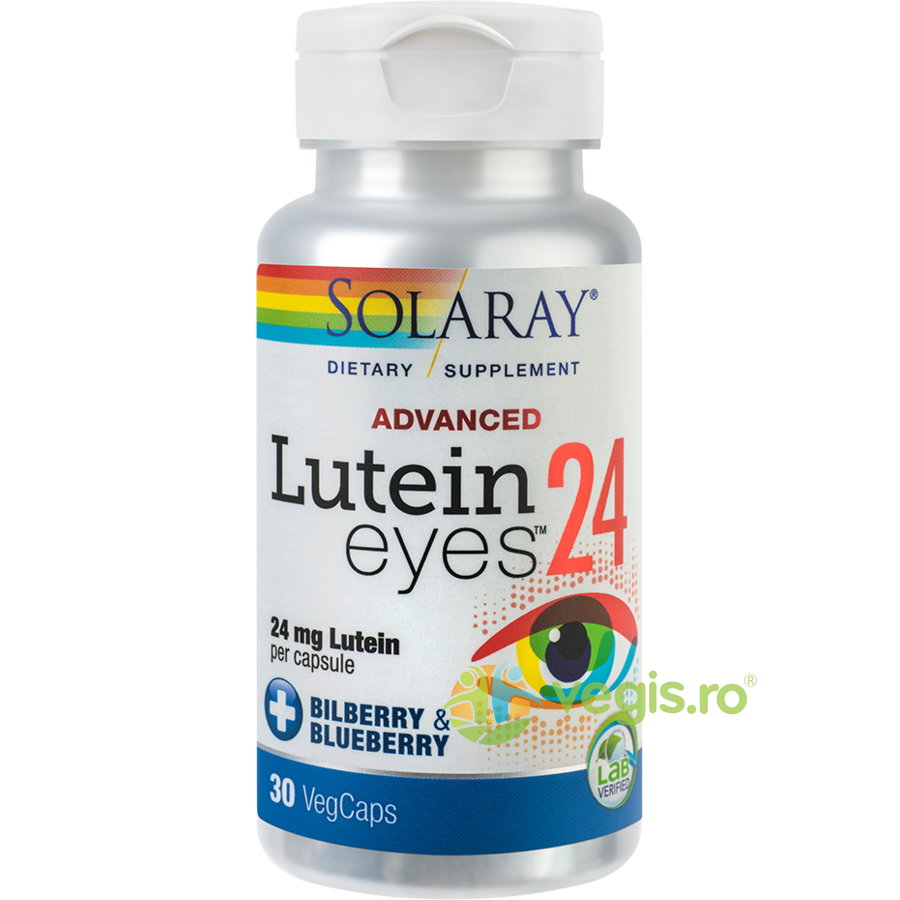 SOLARAY LUTEIN EYES ADVANCED 30CPS