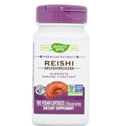 REISHI (GANODERMA LUCIDUM) 100CPS NATURE'S  WAY