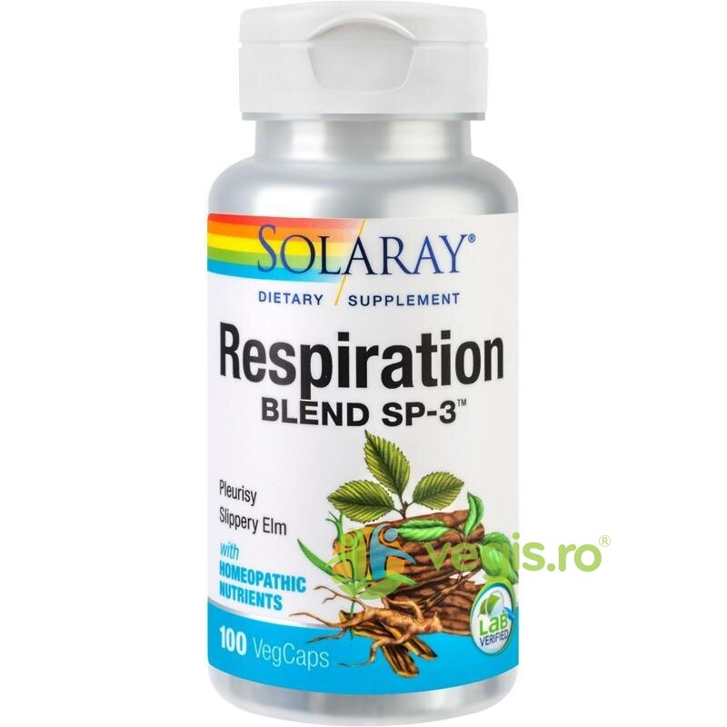 SOLARAY RESPIRATION BLEND 100CPS