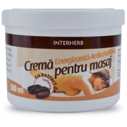 Crema Masaj Anticelulitic Cofeina 500ml INTERHERB